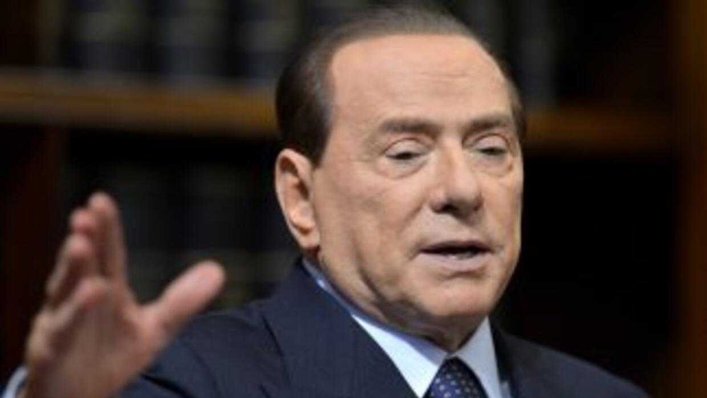El ex mandatario italiano, Silvio Berlusconi.