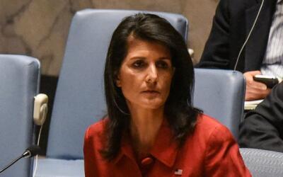 Nikki Haley, en la Naciones Unidas.