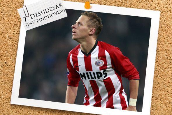 El polaco Balázs Dzsudzsák, pese a no ser un delantero, su...