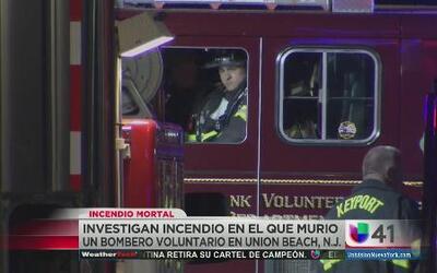 Investigan incendio en el que murió bombero