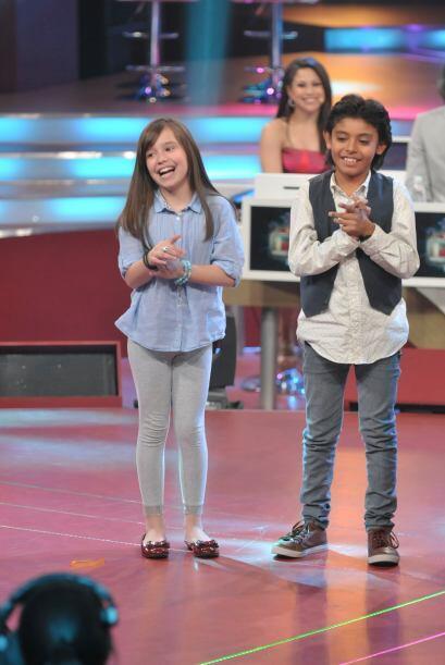 Amira y Jancarlo estaban anciosos por observar divertida su participaci&...