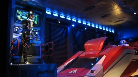 Atracción Star Tours en Hollywood Studios, Disney.