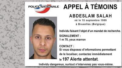 Policía francesa busca a atacante prófugo