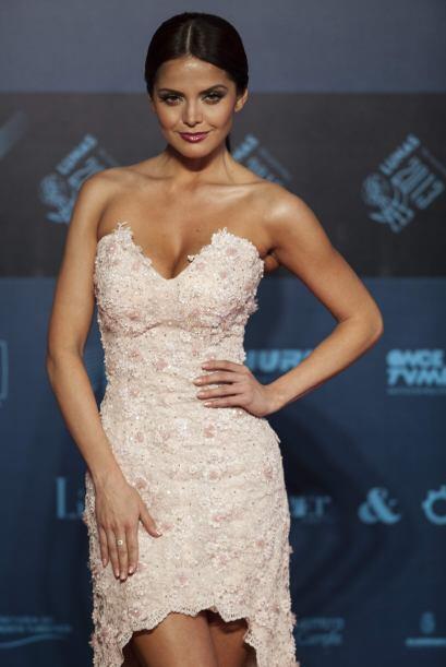 La que de plano también mostró unas deliciosas curvas fue Marisol Gonzál...
