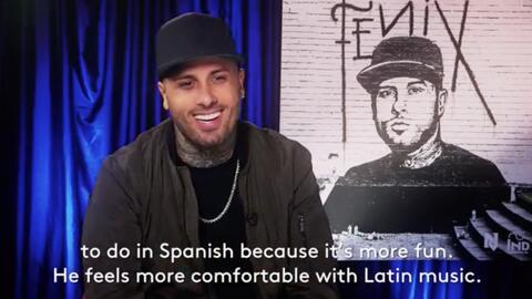 Nicky Jam quiere ayudar a Vin Diesel a rapear en español