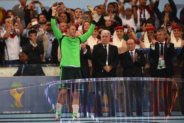 Neuer solo recibió cuatro goles en la justa. Dos en el empate 2-2 ante G...
