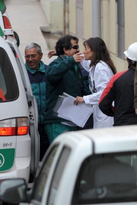 El ministro de Salud, Jaime Mañalich, indicó que los mineros pasarán dos...