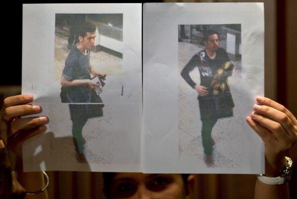 Se trata de dos hombres de 18 y 29 años que entraron a Malasia con sus p...