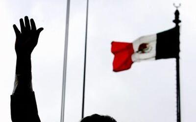 Esta tradición de cada festejo de la independencia mexicana se lleva a c...