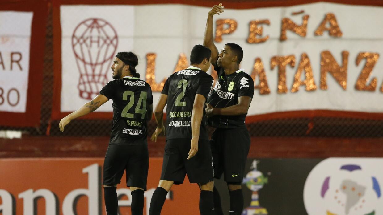 Atlético Nacional venció a domicilio a Huracán