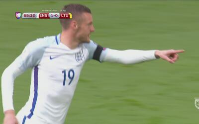 Jamie Vardy se estrena en la Eliminatoria con Inglaterra