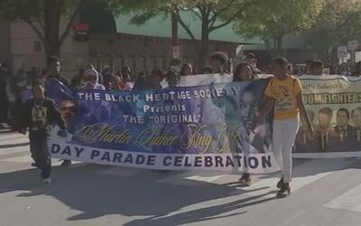 Houston celebró por todo lo alto el legado del Dr. Martin Luther King