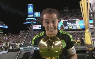 Andrés Guardado fue el mejor jugador de la Copa Oro