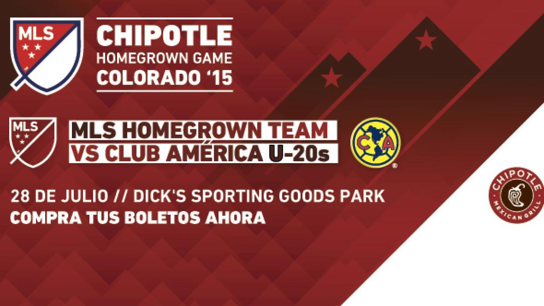 Equipo de Canteranos de la MLS vs América Sub-20