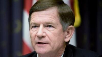 El congresista republicano Lamar Smith, líder del Comité Judicial de la...