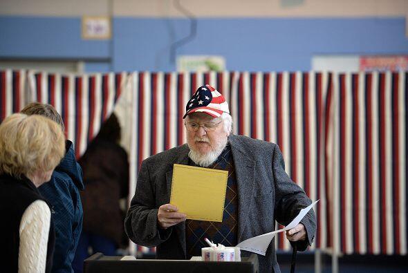 Jim Kirwin Jr. es otro de los votantes que se pusieron patrióticos en lo...