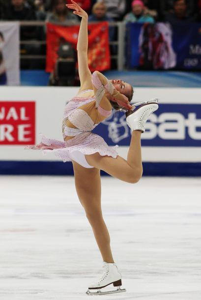La tres veces campeona de Europa se llevó la medalla de tercer lu...