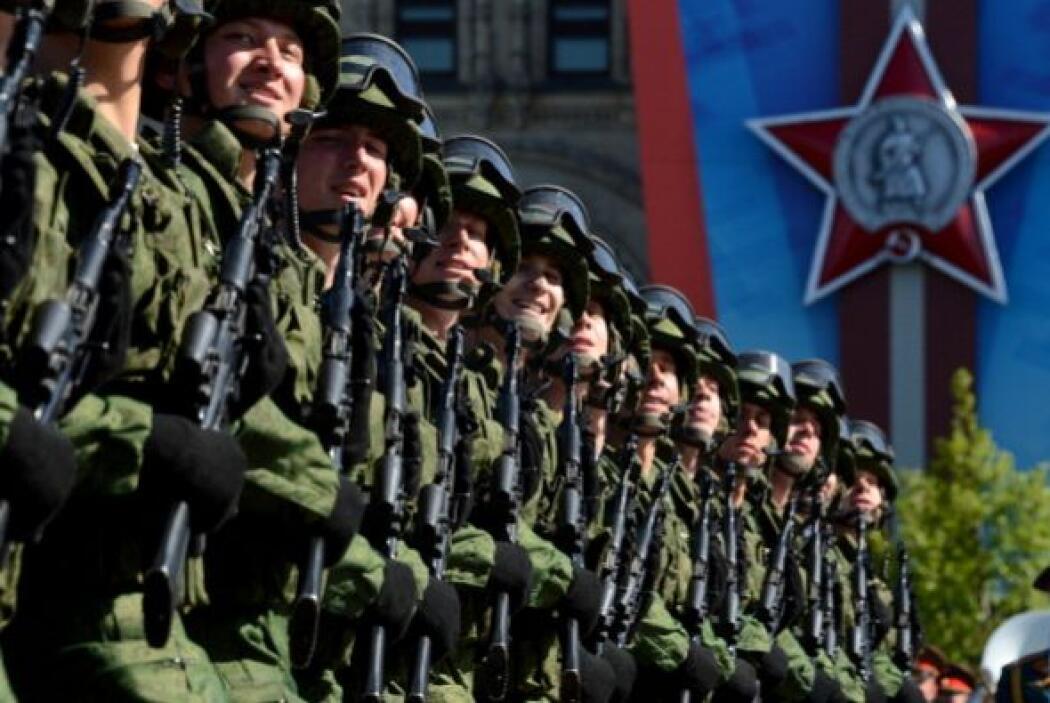 Rusia hizo gala de su poderío militar.