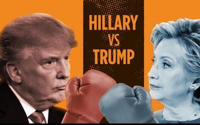 Cómo Hillary Clinton noqueó a Donald Trump en tres rounds durante el pri...