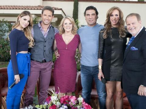 En su último día en México, Lili Estefan y Ra&uacut...