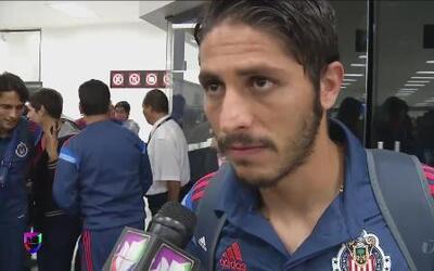 Los Chivas llegan a México listos para enfrentar a Pachuca