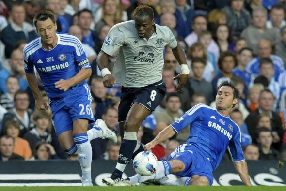 El capitán del Chelsea hizo un gran trabajo ante el Everton.