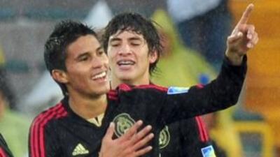 El atacante mexicano hizo tres goles ante el Hércules.