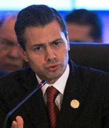 El presidente de México,Enrique Peña Nieto, escribió en las redes socia...
