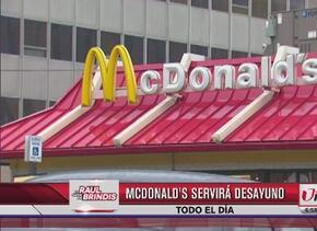 Acompáñanos HOY en McDonald's