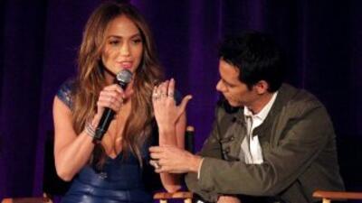 A pesar de su separación, Marc Anthony y Jennifer Lopez siguen mantenien...