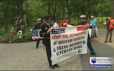 Veteranos hispanos piden no ser deportados