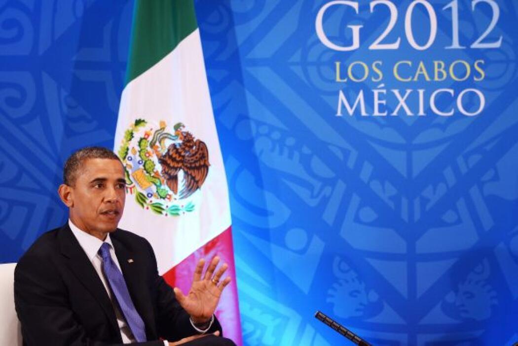 Durante la reunión, que se llevó a cabo en el marco de la Cumbre del G20...