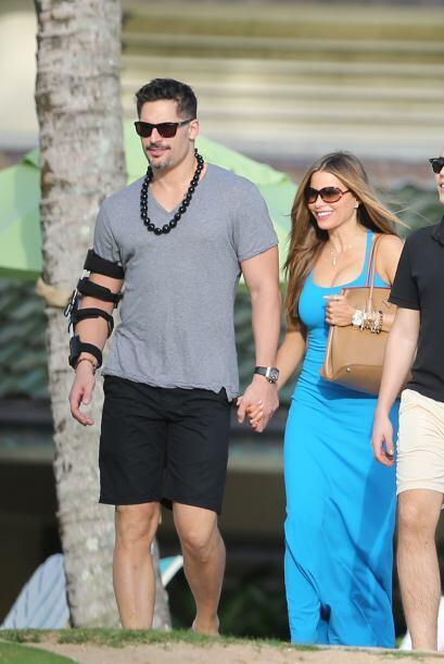 La colombiana y su guapo galán se fueron de vacaciones a Hawaii en donde...