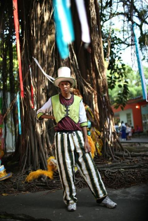 La capital del estado de Bahía, Salvador, también ya comenzó la fiesta d...