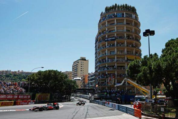 El espectáculo del Gran Premio de Mónaco desde los lujosos...