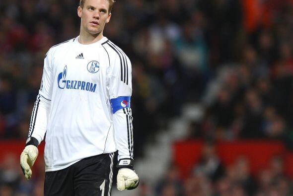 En este gol el arquero Manuel Neuer que en la Ida fue la figura, cometió...