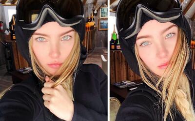 Belinda levantó polémica con estas fotos porque dicen que no es ella
