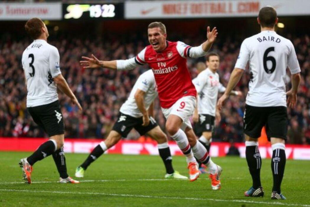 Luego Podolski hizo el 2-0.