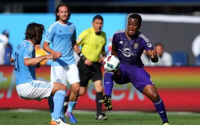 Orlando rescató un empate sobre la hora ante NYCFC ,