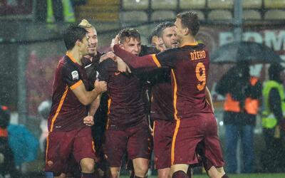 Lucas Digne abrió el marcador de la Roma