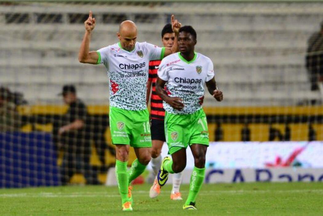 Carlos Ochoa.- El delantero de Chiapas FC está teniendo una campaña más...