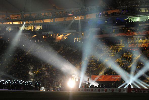 Diego Torres interpretó el himno de la Copa América llamad...