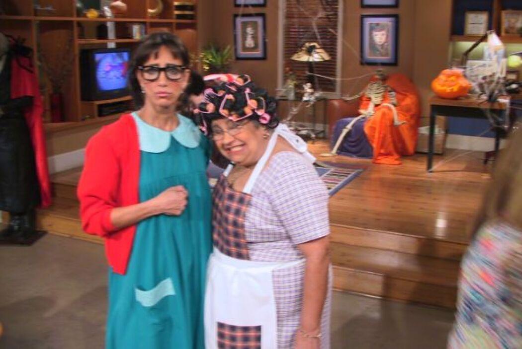 Aunque en la serie Doña Florinda y la Chilindrina no se llevan del todo...