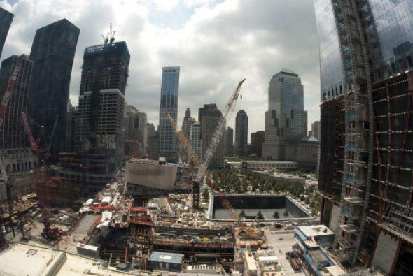 El 12 de septiembre, el memorial ubicado en el nuevo World Trade Center...