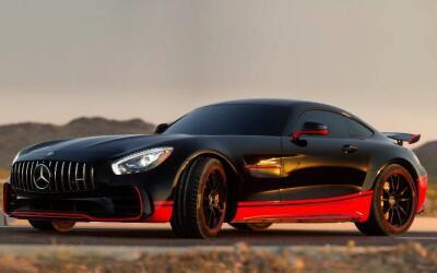 El nuevo Mercedes-AMG GT R en los colores de Autobot Drift
