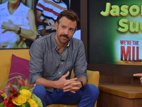 El actor Jason Sudeikis llegó esta mañana a Despierta Am&e...