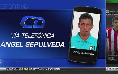 """Ángel Sepúlveda habló sobre su convocatoria: """"Era un sueño representar a..."""