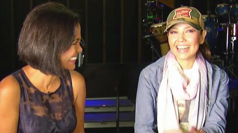 Cuélate a los ensayos de la nueva gira de conciertos de Thalía