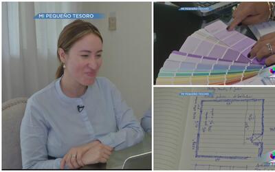 Milly Méndez se goza el proceso de decorar el cuarto de su bebé