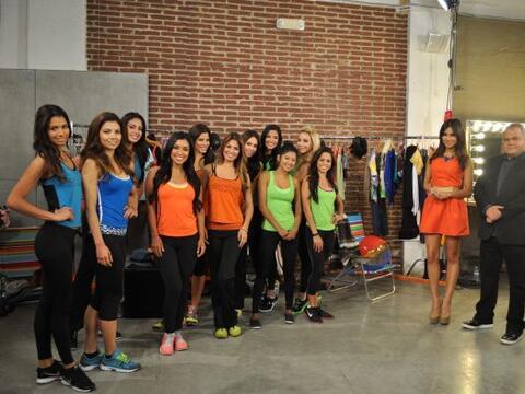 Las 11 finalistas recibieron la sopresa de conocer a Armando Correa, edi...
